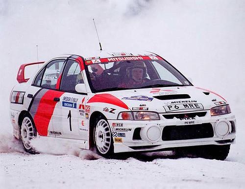 Top 50 Rally Cars Mitsubishi Lancer Evo 4 The Mitsubishi Flickr