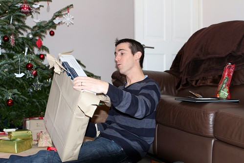 Ben opening his present | by ::Christine::