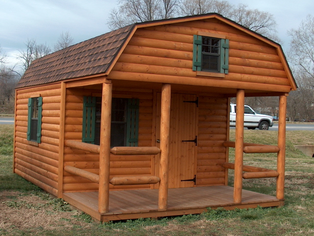 High Quality ... Log Storage Buildings | Log Barns | By Alans Factory Outlet