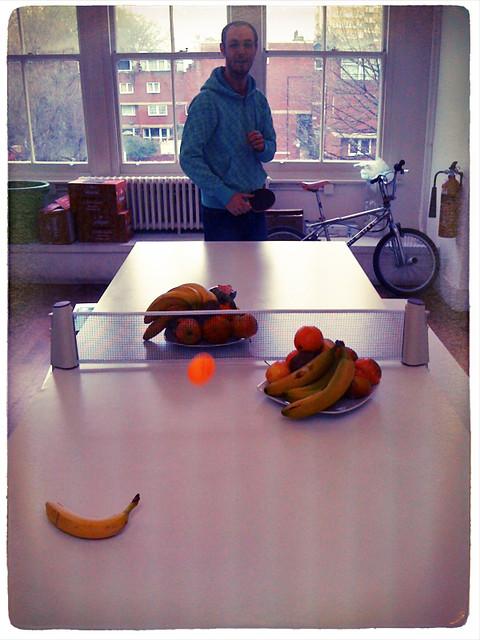 Kitchen Table Ping Pong Set