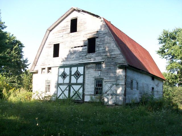 1929 Barn Granby 1920 Dutch Style Gambrel Roofed Barn