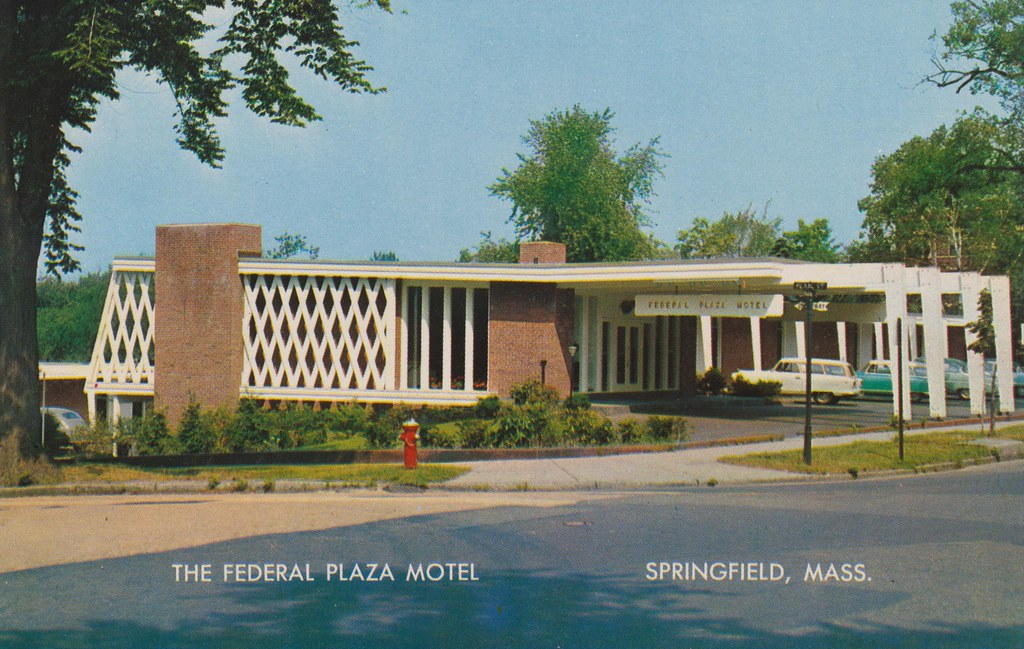 The Federal Plaza Motel - Springfield, Massachusetts