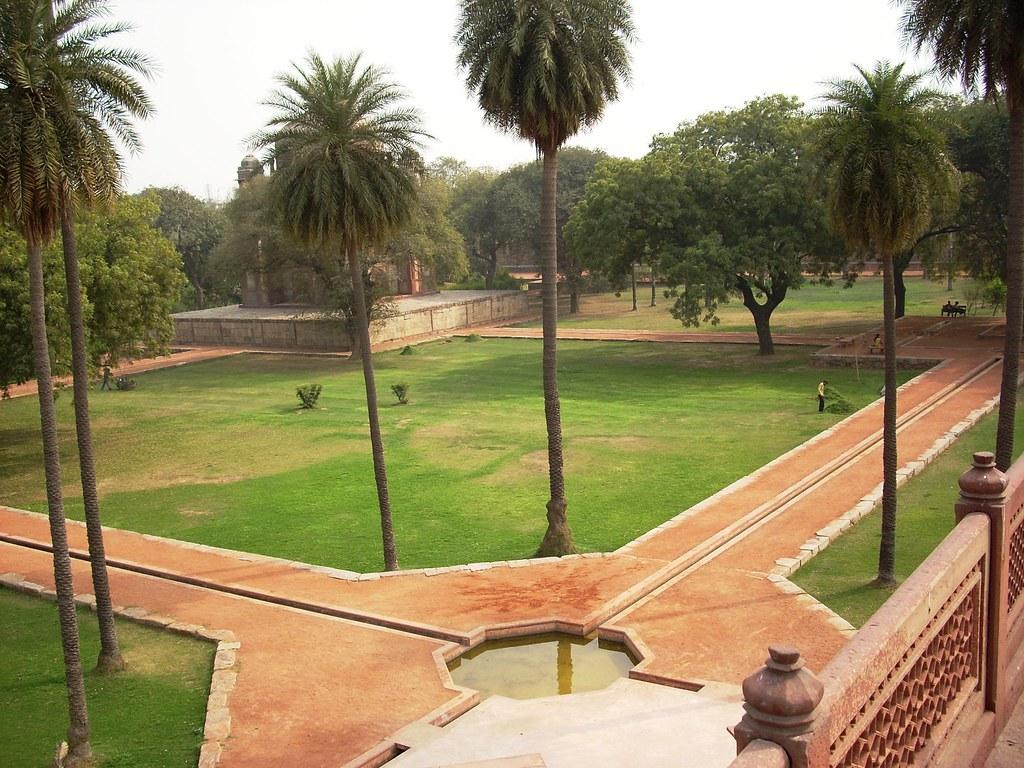 Char Bagh Garden, Humayun's Tomb, Delhi | The Mughals ...