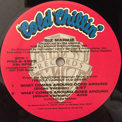 BIZ MARKIE:WHAT COMES AROUND GOES AROUND(LABEL SIDE-A)