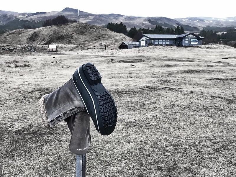 Mt. Esja - Boot