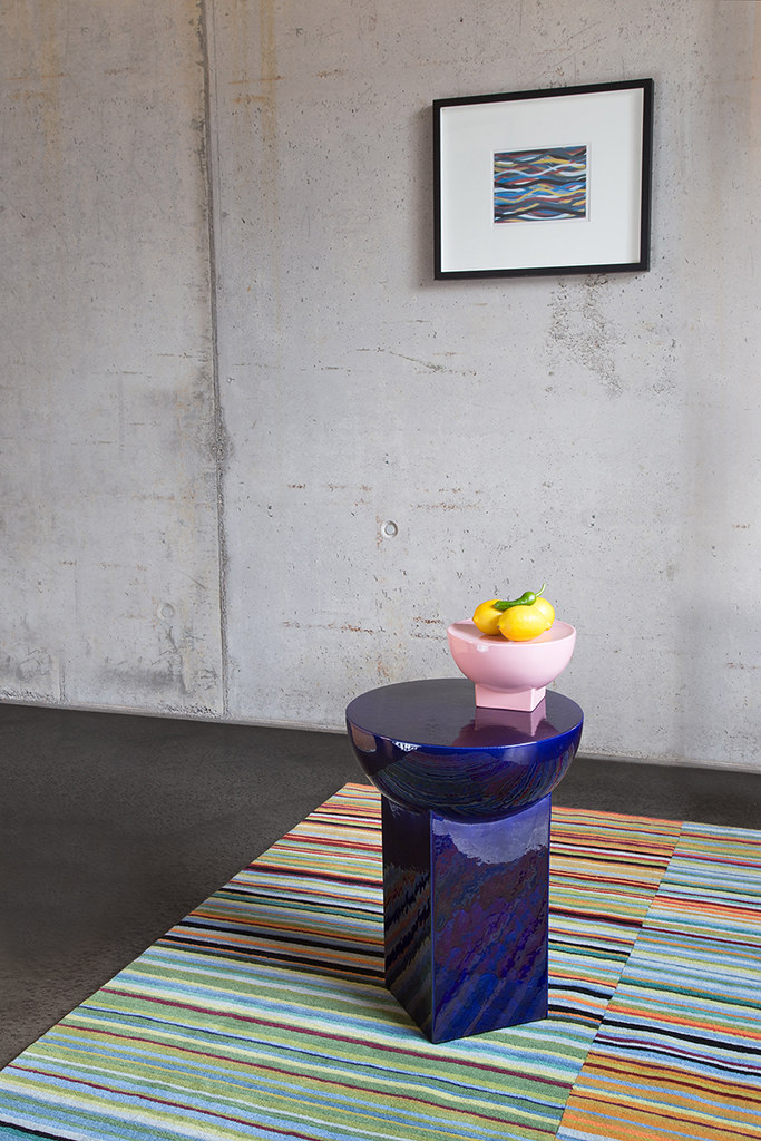 Shallow bowls and rounded coffee tables by German designer Sebastian Herkner Sundeno_17