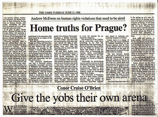 Clipping from the Times - Home Truths for Prague | by Foreign and Commonwealth Office