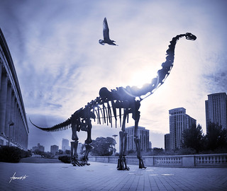 The Dinosaur and the City | by Tomasito.!