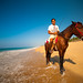 Riding a horse on Acapulco beach on a saturday morning... Priceless.