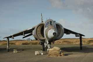 Harrier XV753 / 53-DD at RN SFDO Predannack | by dyvroeth