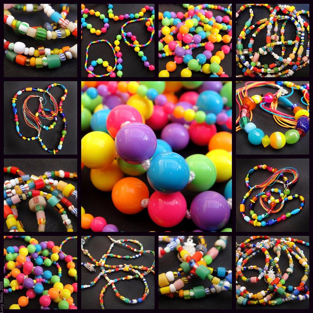 Mosaico cuentas de colores 100103 1 esferas de colores flickr - Mosaico de colores ...