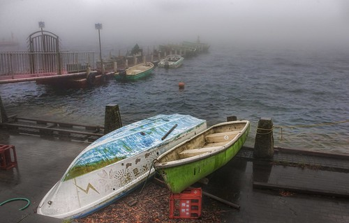 Lonely Boats in Hakone | by Stuck in Customs