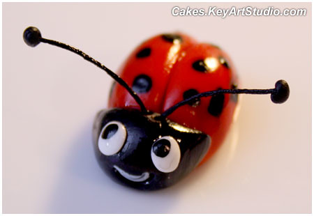How To Make Ladybug Cake Topper