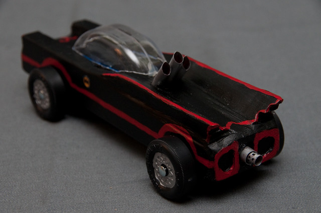 Vintage Batmobile Rear