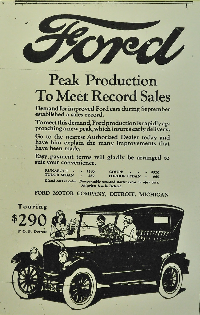 Ford motor company automobile advertisement 1925 flickr for Ford motor company news