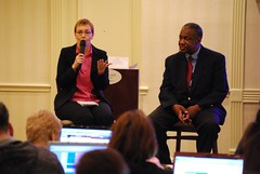 Denise Wakeman and Willie Crawford at Niche Affiliate Marketing System (NAMS) Workshop 3 | by rogercarr