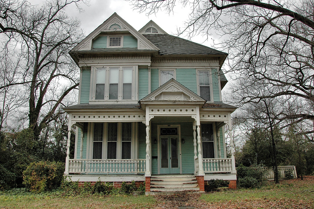 M g smith house 1890 tennille washington county ga for Old deep house