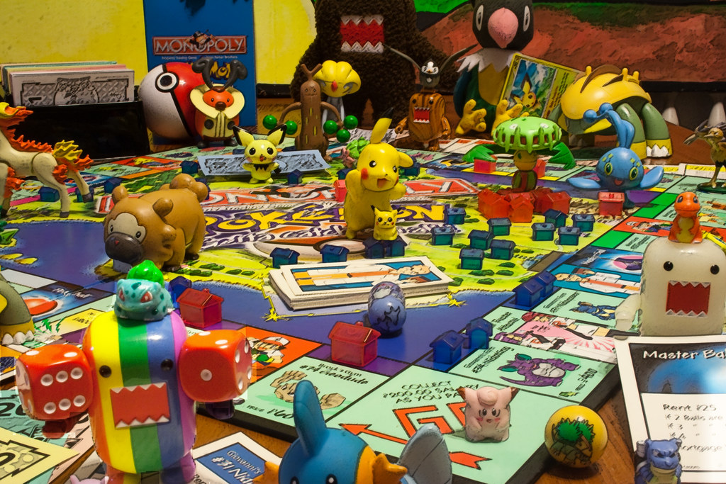 53 365 Domo S Get Invited To A Pokemon Monopoly Party Flickr