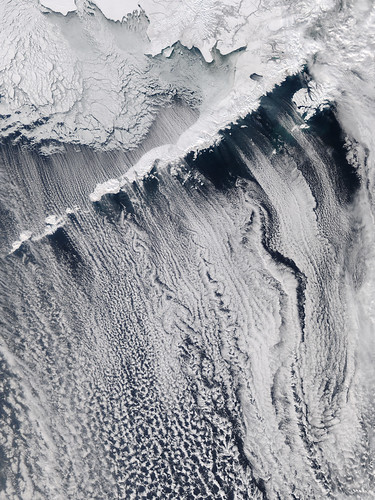 Clouds off the Aleutian Islands | by NASA Goddard Photo and Video
