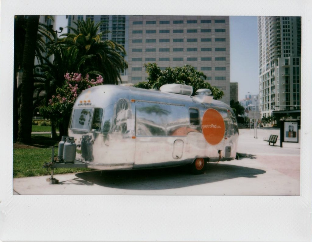 Airstream Food Truck Downtown Miami