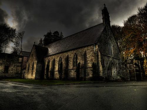 The Dark Church Day 10 Hdr Shot Of A Church In The