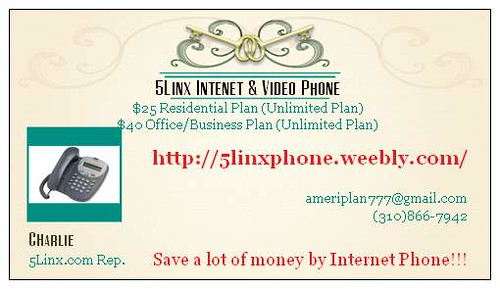 5linx business card internet phones and video phones are d flickr 5linx business card by 5linx internet phone video phone colourmoves