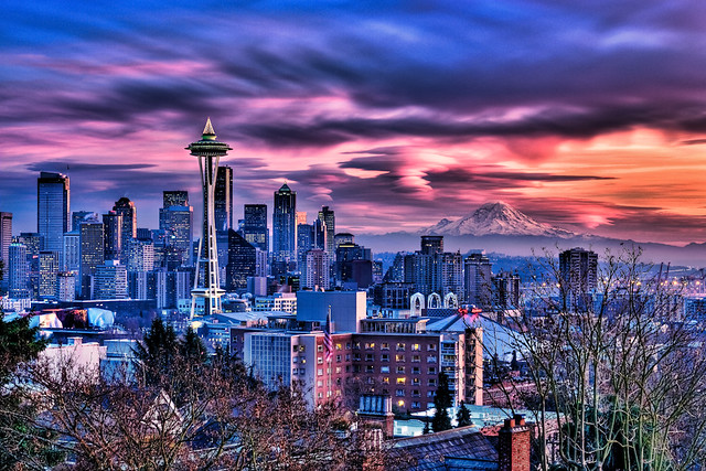 Seattle Sunset | The weather here in Seattle has been except… | Flickr
