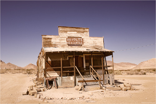 Rhyolite Ghost Town | by pascalbovet.com