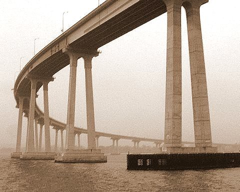 394.  Coronado Bridge in the fog | by Di's Eyes
