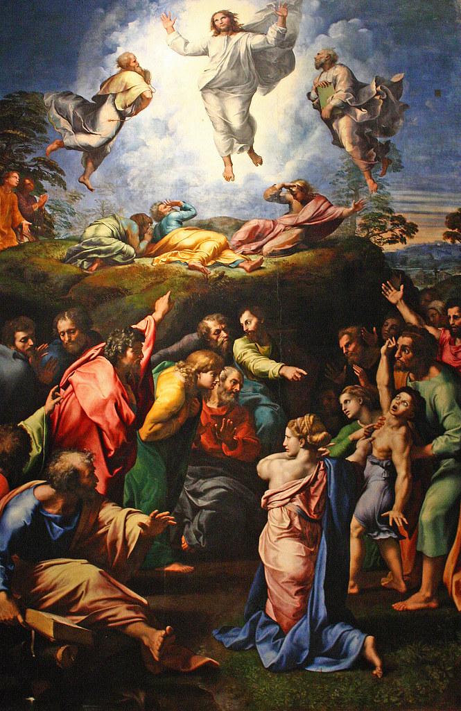Raphael, The Transfiguration | The Transfiguration (1516 ...