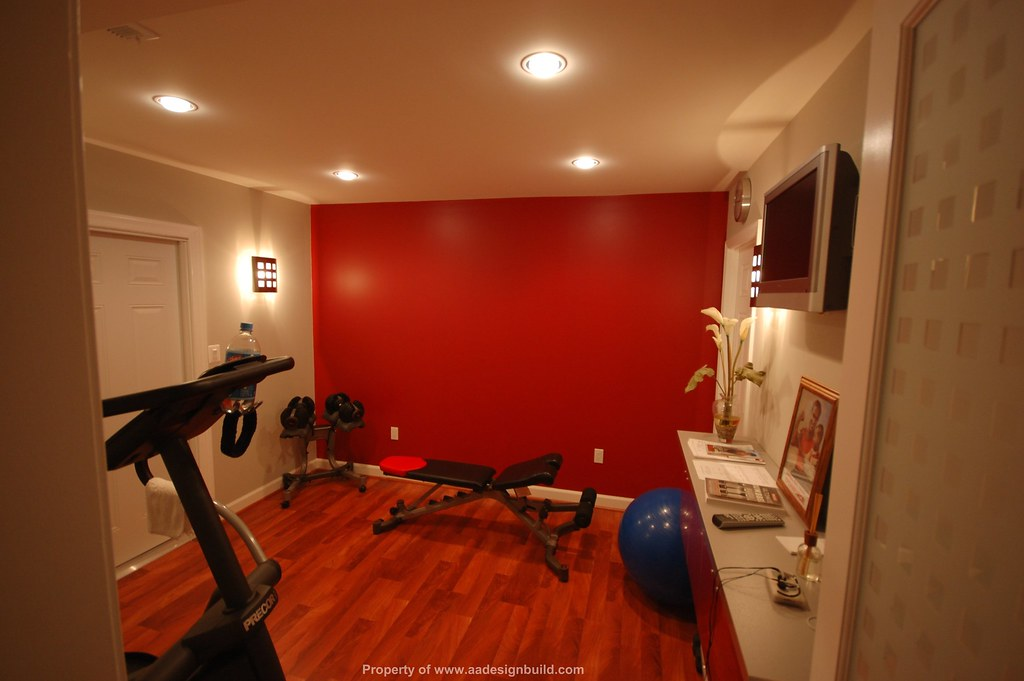 Basement Workout Room Colors