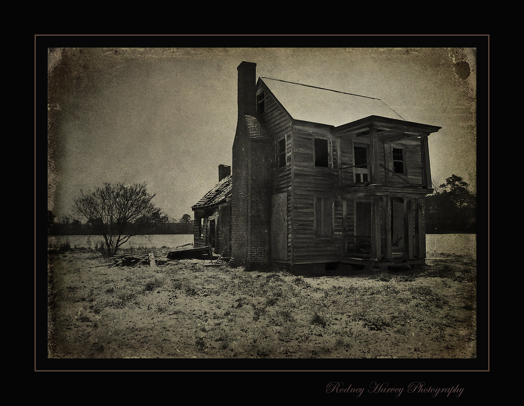 witch of pungo house this is from the old film days and