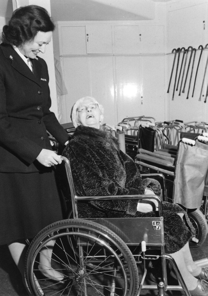 3 Year Loans >> Medical equipment service, 1960s | A Red Cross volunteer ...