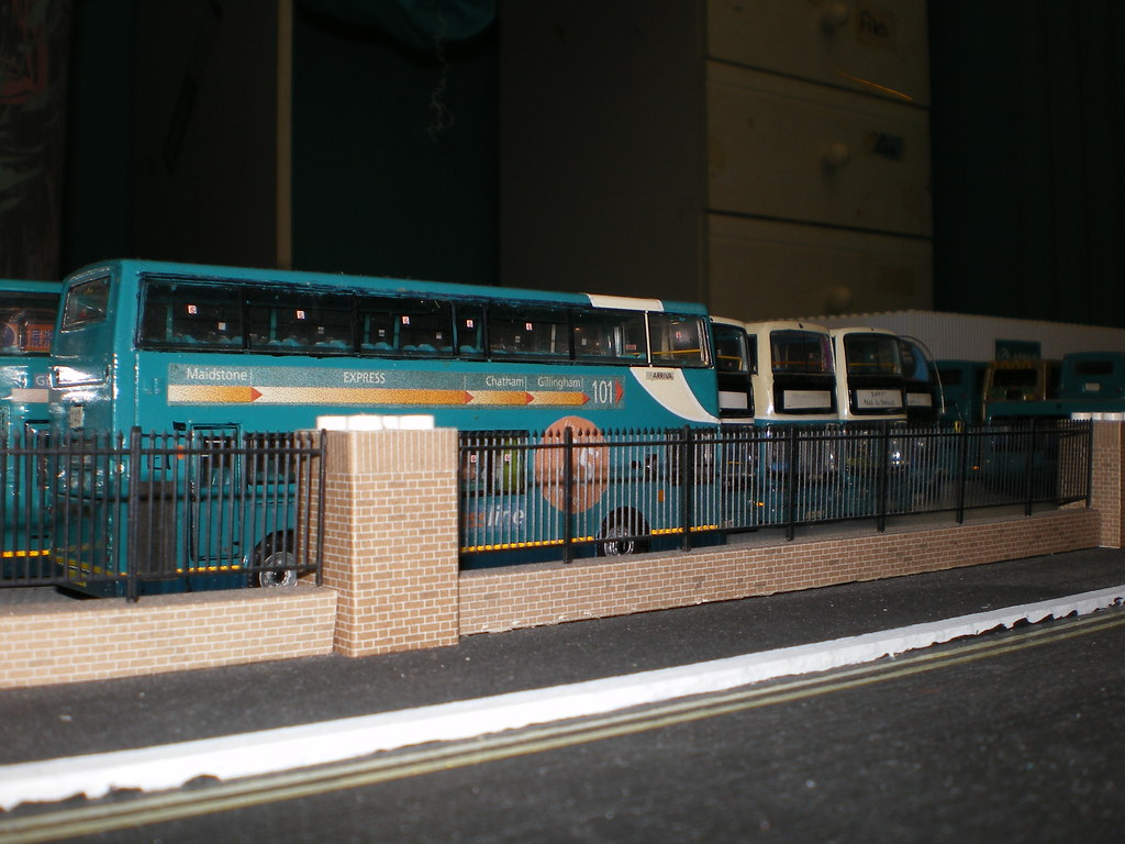 Gillingham Bus Station Model Layout Arriva Medway Towns