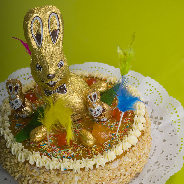 Happy Easter Cake Decorating