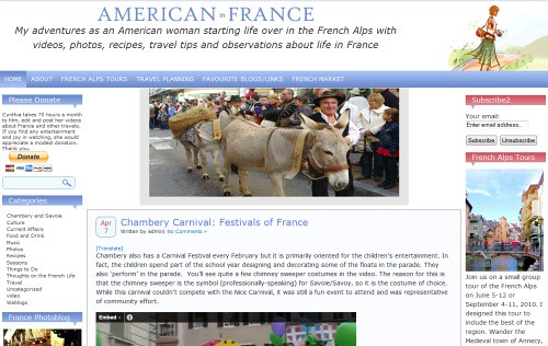 Video Diary of an American in France | by Blogging Women