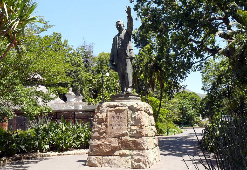 statue of cecil john rhodes in the company gardens flickr. Black Bedroom Furniture Sets. Home Design Ideas