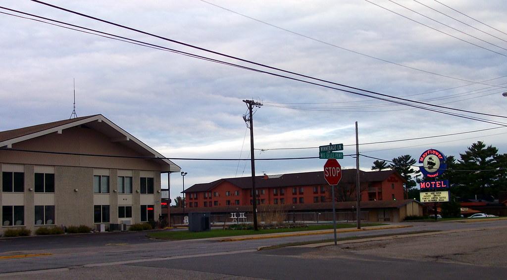 Mayflower Motel And Hilton Garden Inn Wisconsin Dells Wi Flickr