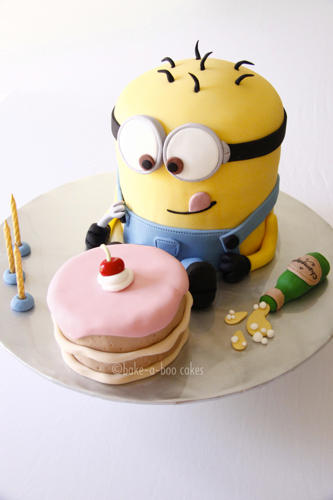 Minion Cake Elina Prawito Flickr