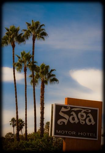 Saga motor hotel route 66 this nice old motel sits on for Saga motor hotel pasadena ca