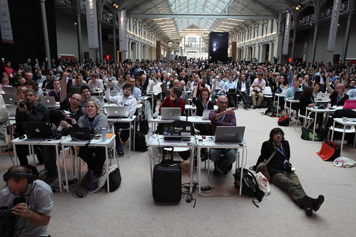 The iPhone users at LeWeb | by Robert Scoble