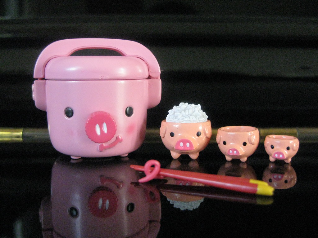 ... Pig Rice Cooker | By Pinky_Re Ment