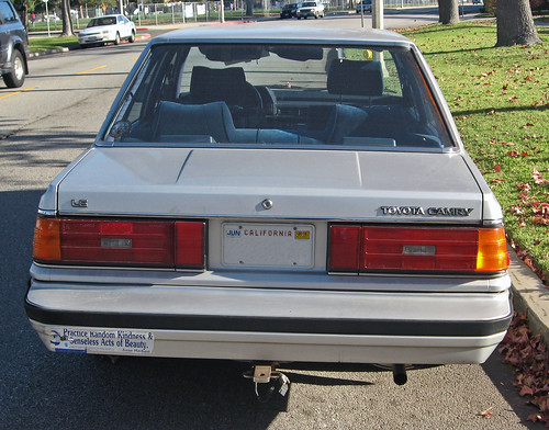 1985 Toyota Camry Le Rear Ate Up With Motor Flickr