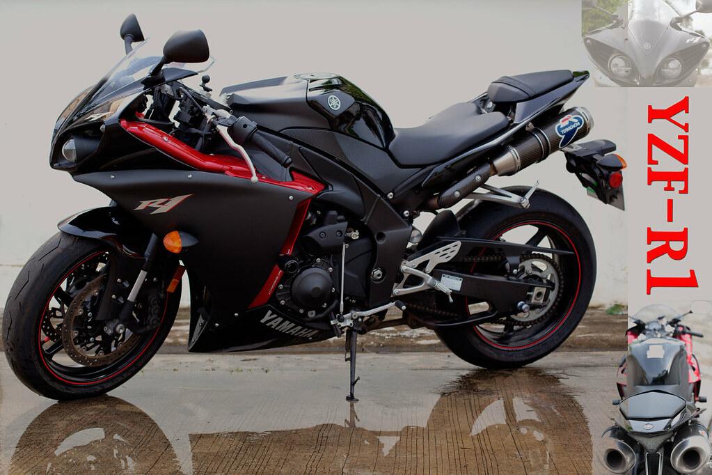 Yamaha R1 2010 Model black | My New motorbike, Yamaha R1 201… | Flickr