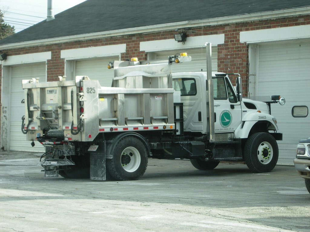 ODOT Snow Plow Truck | Ohio Department of Transportation Int… | Flickr