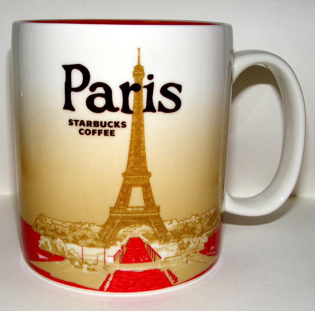 starbucks mug paris eiffel 2010 pinay new yorker flickr. Black Bedroom Furniture Sets. Home Design Ideas