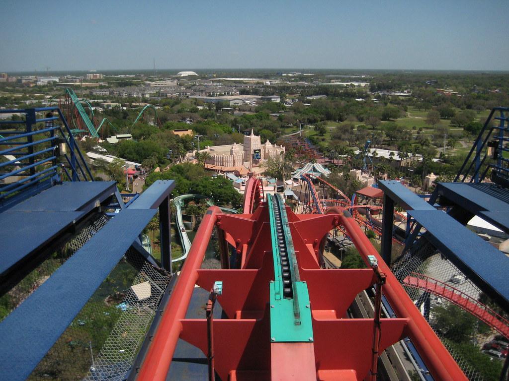 Busch Gardens Sheikra At Busch Gardens In Tampa