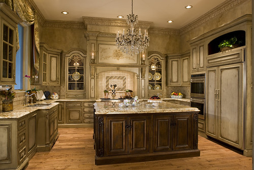 Luxury kitchen design luxury kitchen design potomac md for Extravagant kitchen designs