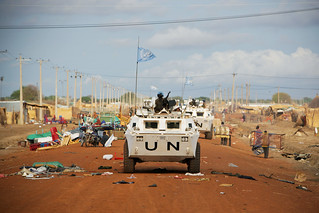 UN Peacekeepers on Patrol in Abyei | by United Nations Photo