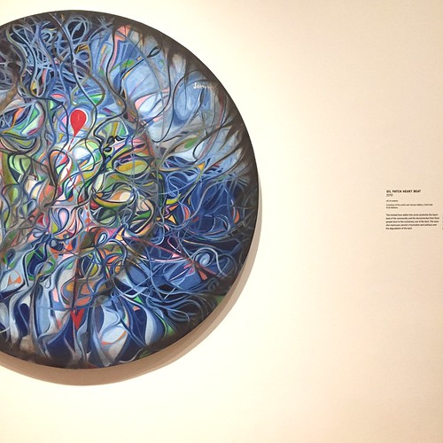 Alex Janvier at the National Gallery